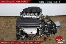 JDM Toyota 4A-GE DOHC 1.6L 20Valve Engine Black top AE111 6 Speed Trans 4AGE