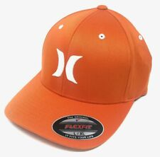 Hurley Men's One and Only Flex Fit Stretch Fitted Hat Cap - Burnt Orange