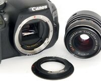 M42 - Canon EOS Adapter AF Confirm for ZEISS & Meyer-Optik Lens on Digital CANON