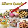 Silicone Spatula Set Heat Resistant Cake Cream Butter Spatulas Mixing Scraper HO