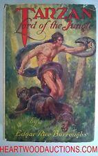TARZAN Lord of the Jungle by Edgar Rice Burroughs J. ALLEN ST.JOHN