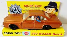 CORGI 290 KOJAK - BUICK REGAL 1:36 Diecast Model TV Car on Custom Display [c]