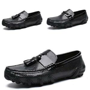 Men's Driving Moccasin Loafers Shoes Pumps Slip on Flats Soft Non-slip Party New
