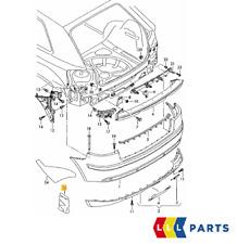Nuovo Originale Audi S3 04-08 Diffusore Paraurti Posteriore Guarnizione