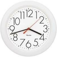 10 Round Wall Clock White