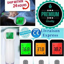 Thermometre Frontal Digitale Infrarouge Bebe Adulte Corps Medical Sans Contact