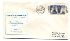 Pan American First Flight New York - Dusseldorf Germany - Boeing 707 - 1959
