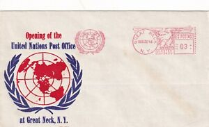 P2168 UN Opening of United Nation Post Office Great Neck 20 August 1946 NY