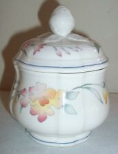 Villeroy & and Boch RIVIERA covered sugar bowl / preserve pot