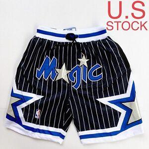 Orlando Magic Basketball Shorts 92-93 Vintage Mens Black Sizes S-2XL USA