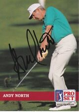 Andy North Signed - Autographed Pro Set Golf Trading Card with Certificate - COA