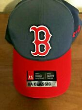 NWT Under Armour CoolSwitch Boston Red Socks Hat  Blue & Red  Adjustable NWT
