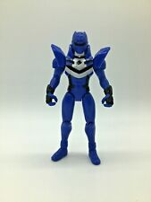 "Power Rangers Jungle Fury BLUE JAGUAR STRIKE RIDER RANGER 5"" Figure Bandai 2007"