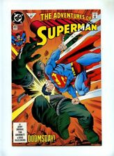 Adventures of Superman #497 + #498 - DC 1992 VFN - Doomsday + Death of Superman