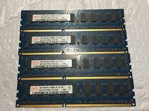 Hynix PC3-10600 4GB (4x1GB) 1333 MHz DDR3 Memory (HMT112U7TFR8C-H9)