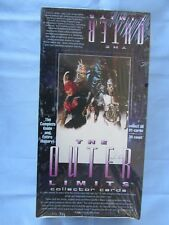 "COLLECTOR CARDS ""THE OUTER LIMITS"" TV SERIES - 1997 MINT FACTORY SEALED BOX"