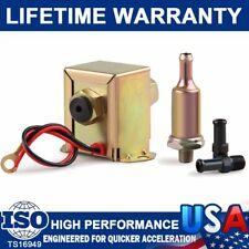 12V Low Pressure Universal Electric Fuel Pump Metal Fits Petrol Diesel 4-7PSI US