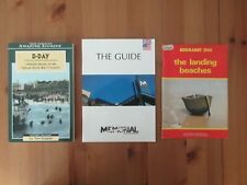 3 D-Day Booklets Canada Beach Guide