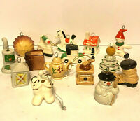 Vintage Goebel Miniature Christmas Ornament Set of 15