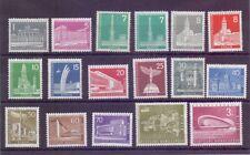 Berlin 1956 - Stadtbilder - MiNr.140/154 + 135 + 187 ** - Michel 60,00 € (260)