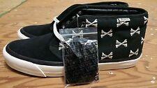 Vans x Wtaps OG Chukka Boot LX Black Bones Crossbones Size 12 kanye supreme