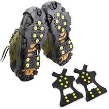 2x ramponi tacchetti sopra scarpa anti scivolo antiscivolo per ghiaccio e neve