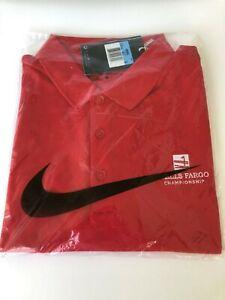 "Men's Nike Golf Polo Shirt Standard Fit Sz Medium ""Wells Fargo Championship"" NWT"