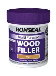 Ronseal@ Multi Purpose Wood Filler 250G Light - Fast Dispatch  Free P&P