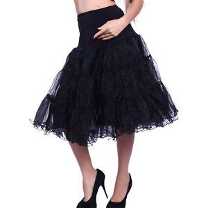 """50er Jahre 50er Jahre 26"""" Rockabilly Petticoat Unterrock Retro Vintage Swing"""