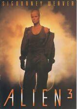 ALIEN3 Japanese Souvenir Program 1992, Sigourney  Weaver, David Fincher