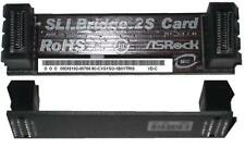 ASRock 2S SLI Bridge Multi-GPU SLI Bridge 2S Card NEU OVP SLI-Brücke starr fest