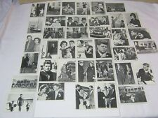 John F. Kennedy Topps JFK Trading Cards Lot of 37 1960's Vintage  T*