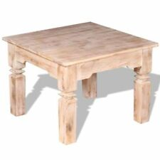 Solid Wood Square 51 cm - 70 cm Width Coffee Tables