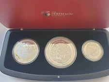 Australien Lunar II 2012 Drache PP Set 2+1 + 1/2 Unzen Silber Nur 1000 Ex. !
