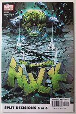 Incredible Hulk #64 (Feb 2004, Marvel) (C5467) Split Decisions Part 5 of 6