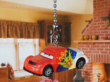 DISNEY CARS Vitaly Petrov Russia Racer Ceiling Fan Pull Light Lamp Chain K1093 K