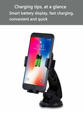 Qi Fast Wireless Car 10W Charger Charging Holder For iphone 11 X Xr Galaxy S8 Us