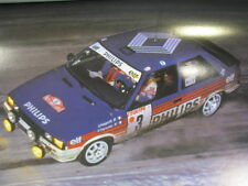 Poster Renault R11 Turbo 1987 #3 Ragnotti / Thimonier Rally Monte Carlo