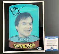 Billy West Autographed Futurama 8x10 Photo Signed Philip J Fry SCIFI Beckett COA