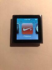 Apple iPod nano Watch 6th Generation Graphite 8 GB