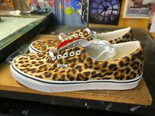 Vans Era Leopard Black True White Animal Print Size US 9 Men (10.5 Women) New