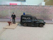 1/76 Code 3 / Oxford Diecast / Police / Dog Van / 50s 60s 70s Era / Morris Minor