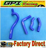 GPI Silicone radiator coolant hoses 1993-1996 Kawasaki KLX650 KLX 650 93 95 BLUE