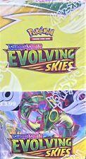 More details for pokemon cards bundle  sword and shield - evolving skies  18 packs - full box
