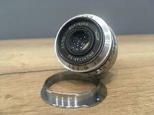 Lens Industar-50 f3.5 50mm (copy of Tessar f3.5) Mount M39 for Zorkiy or Leica M