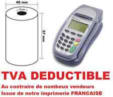 ROULEAUX BOBINES THERMIQUES CARTE BANCAIRE 57X40X12  TVA DÉDUCTIBLE
