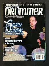 Modern Drummer Magazine May 1999 Gary Novak