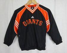 00a9ac83d085 Adidas San Francisco Giants Negro Y Naranja Jersey Chaqueta ~ Children s  Talla 8