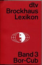 dtv Brockhaus Lexikon Band 3 Bor-Cub
