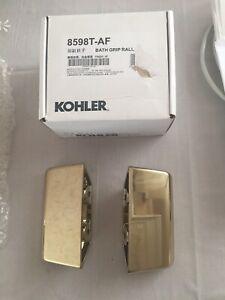 Kohler bath tub grips -AF Gold Finish